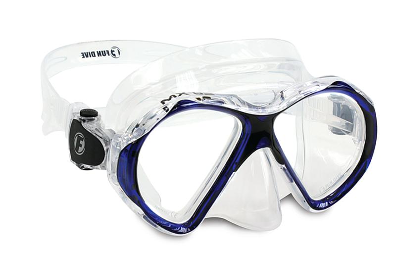 Visor MX-01 | Azul-Transparente
