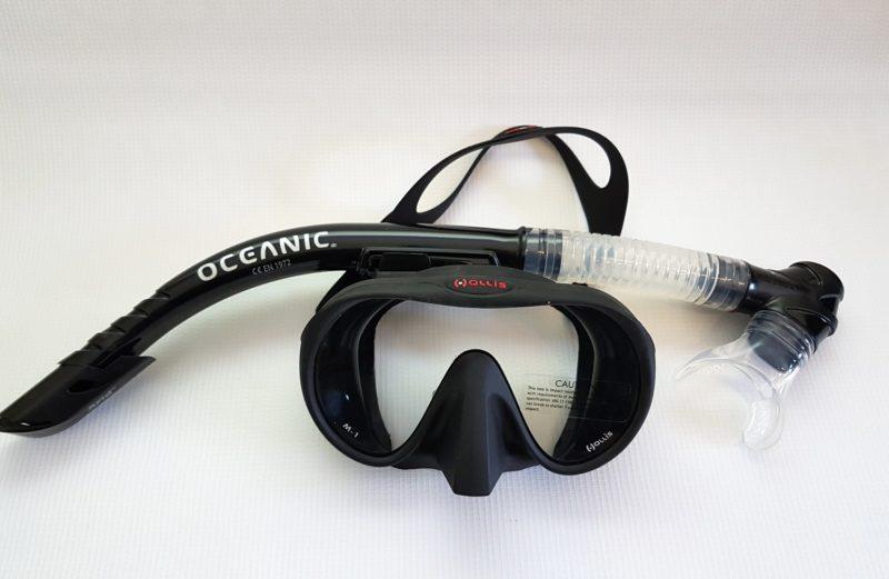 Visor M1 + Snorkel Oceanic Arid